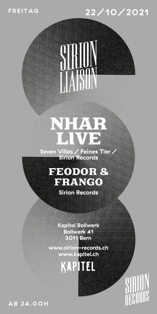Sirion Liaison w/ Nhar live