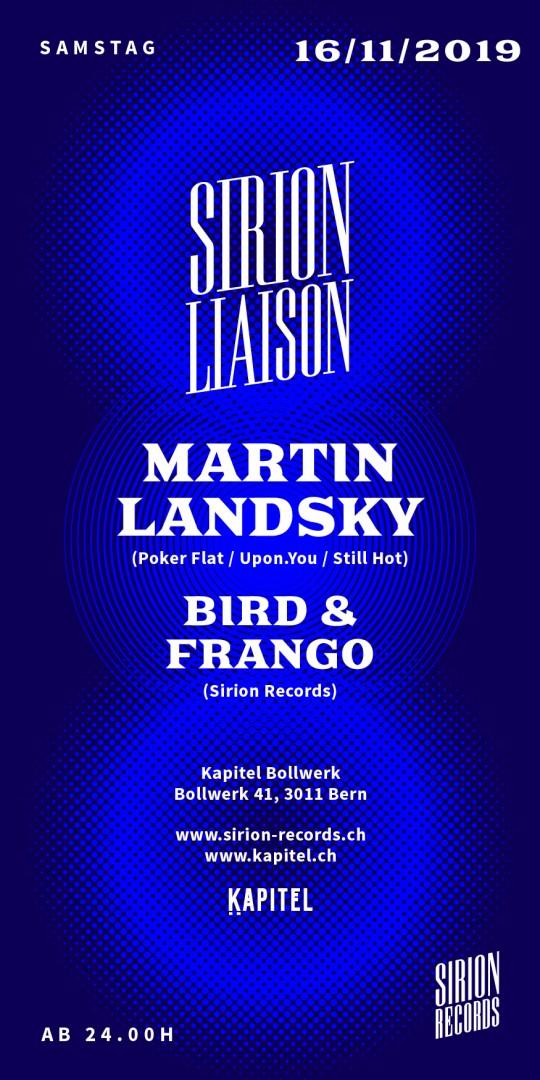 Sirion Liaison w/ Martin Landsky